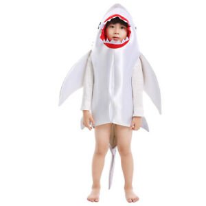Halloween Grey Shark Costume for Toddler, Size 4T