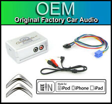 CITROEN C2 AUX in lead STEREO AUTO IPOD IPHONE PLAYER ADAPTER CONNECTION KIT
