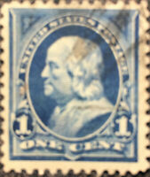 Scott #246 US 1894 1 Cent Franklin Bureau Postage Stamp XF NH