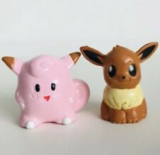 CGTSJ Eevee & Clefairy Original Nintendo Pokemon Mini Figures Toy vtg 2