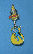 HARD ROCK CAFE 2002 Online Olympic Winter Games Speed Skater Pin