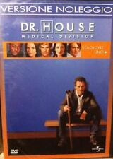 DvD DR. HOUSE Stagione 1  BOX 6 DvD   ......NUOVO