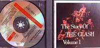 The Clash- The Story Vol.1- 2-CD-Box WIE NEU