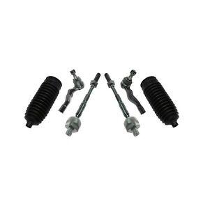 6 New Pc Suspension Kit for Infiniti G35 Nissan 350Z Inner & Outer Tie Rod Ends