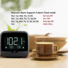 FM Radio Clock Alarm LCD Display Sleep Timer MP3 Player Bluetooth Speaker Dimmer