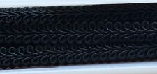 9mm Black Gimp Braid