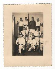 10/214 FOTO SOLDATEN PIONIERE GEISTERSTUNDE  - ATELIER HANAU 3. ZUG GRUPPE 9