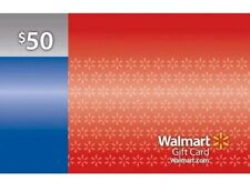 $50 Walmart Gift Card  - Unscratched - NEW