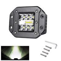 39W Arbeitsscheinwerfer LED Unterputz Driving Nebel Lampe Pods Auto Offroad LKW
