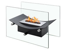 Verona Black - Ignis Ventless Tabletop Bio Ethanol Fireplace - Eco Friendly