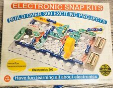 Electronic Snap Circuits 300 projects equal to Elenco SC-300 Radio Shack STEM
