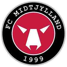 "FC Midtjylland FC Denmark Football Soccer Car Bumper Sticker Decal 4.6""X4.6"""