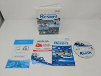 Nintendo Wii Sports Resort Video Game Complete & Tested CIB - VGC!