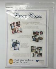 Creative Memories Paper Boxes Photo Mounting Paper 4 Colors