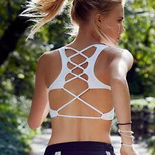 Fashion New Women Bra Tank Tops Bustier Vest Crop Top Bralette Blouse White M