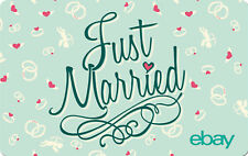 eBay Digital Gift card - Just Married $25 $50 $100 or $200 - Email Delivery