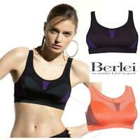 Berlei Sport Sports Bra Fitness Crop Top B4910 Unwired Medium Impact Gym Workout