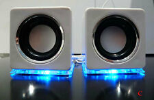 Soytich Multimedia Speaker. Design USB Loudspeaker Lautsprecher white (DW)