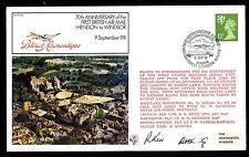 Motive Nordirland 70th Anniversary Ot The First Uk Aerial Post Vignettenblock