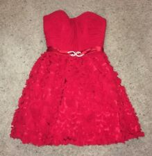 Blush Prom By Alexia Red Short Mini Prom Dress Size 0! Great Condition!