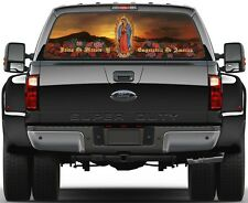 Lady of Guadalupe Nuestra Señora de Guadalupe 2 Rear Window Graphic Decal Truck