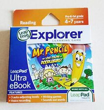 Leap Frog Explorer Mr Pencil the Lost Colors of Doodleburg Learning Game Reading
