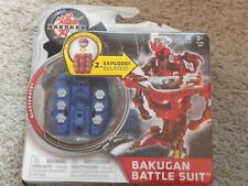 BAKUGAN Mechtanium Surge BLASTERATE Blue Aquos Battle Suit w Ability Card NIP