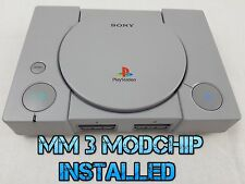 ☆☆REGION FREE☆☆ MODDED SCPH-5552 PLAYSTATION ONE PSX PS1 CONSOLE MM3 CHIPPED