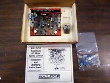 Baldor SCR Drive Adj Single Speed DC Drive BC142