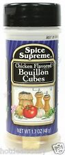 Spice Supreme® CHICKEN BOUILLON CUBES new & fresh USA MADE season spices cooking