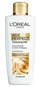 L'Oreal Paris | Age Perfect | CLEANSING MILK | Smoothing & Anti-Fatigue 200ml