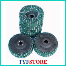 30pcs 4Inch Arasive Buffing Pad Flap Sanding Grinding Wheel  for Metal Polishing