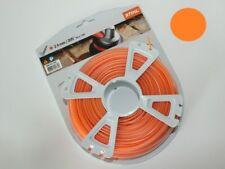 Thread Débroussailleuse Stihl Blister 86 M Rond Orange Diam 2,4 MM