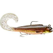 Señuelos DAIWA Pesca Noruega - Duckfin D-lobo rizado 21 cm 260 g oro la escama