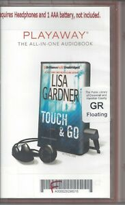 Touch and Go by Lisa Gardner (Tessa Leoni #2) Unabridged Playaway Audio Book