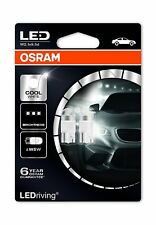 2x OSRAM LED W5W (501) Cool White 6000K 12V 1W 2850CW-02B direction light