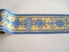 Alkor Fablon selbstklebende Bordüre 5m x 10,7cm Renaissance blue blau 61456