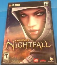 Guild Wars: Nightfall (PC, 2006)(COMPLETE)(INCLUDES CASE, MANUAL, KEY AND DISC)