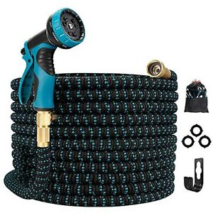 Gpeng Expandable Garden Hose, Water Collapsible Hose with 9 Function Spray