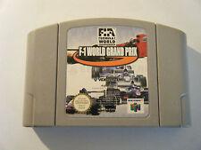 F1 World Grand Prix - Nintendo 64 - Cartouche Seule - Occasion