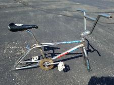VINTAGE 1988 OLD SCHOOL REDLINE RL240 FREESTYLE BMX BIKE PROJECT GT HUTCH SKYWAY