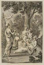 CHODOWIECKI (1726-1801). Flora und die Jahreszeiten; Druckgraphik 2