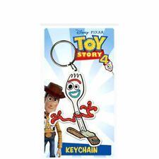 Toy Story 4 Forky Rubber Keyring Keychain - Disney Toy Story