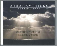 Abraham-Hicks Esther 13 CD Caribbean Cruise 2020 - NEW