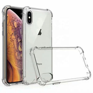 Shockproof Clear Transparent Hard Case Cover For Apple Iphone X/ XS