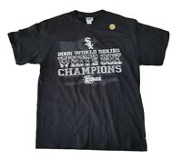 Chicago White Sox 2005 World Series NWOT Lee Sport Mens T-Shirt Black Sz L