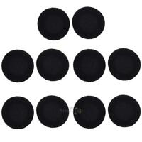 """10pcs 50mm Replacement Ear Pad Cushion Headphone Cover for Earphone Headset 2"""""""