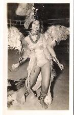 Beautiful Exotic Girl Winged Costume RIO Carnival? Vintage Photo