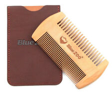Mens Handcrafted Pearwood Comb Beard Mustache Hair Comb