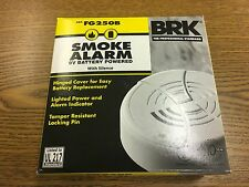 BRK FG250B Smoke Detector battery operated, new from factory, best deal!